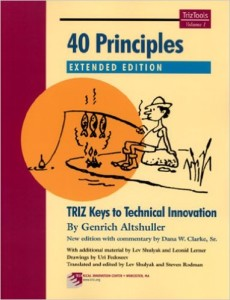 40 Principles - TRIZ Keys to Technical Innovation